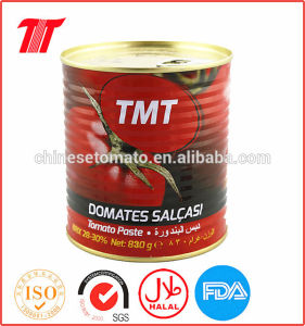 Turkish 830g Canned Tomato Paste of Tmt Brand pictures & photos