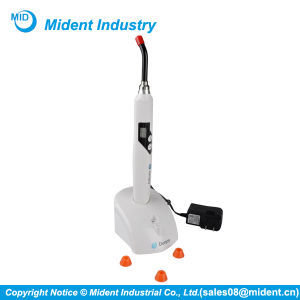 Rechargeable Modes Dental LED Curing Lamp, Wireless Curing Light Dental pictures & photos