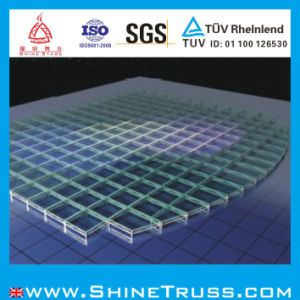 Tempered Glass Lighting Stage Glass Stage pictures & photos