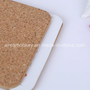 Square MDF Customized Cork Cup Coaster pictures & photos