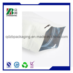 Factory Custom Flat Bottom Plastic Bags pictures & photos