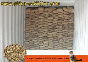 Cat Sand Wholesale Cat Litter Bulk Pine Wood pictures & photos