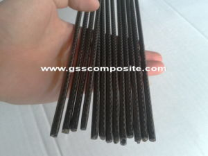 3k Twill Weave Carbon Fiber Solid Round Rod Shafts