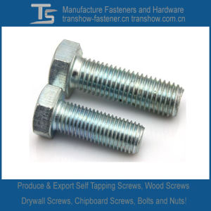 Carbon Steel or Stainless Steel DIN933 Hex Bolts (M3-M48) pictures & photos