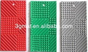 Antifatigue Mat Grid Gym Floor Mat Vinyl Flooring Exhibition Carpet (3G-GRID) pictures & photos