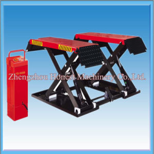 Cheap Price Double Hydraulic Scissor Lift for Car Wash pictures & photos