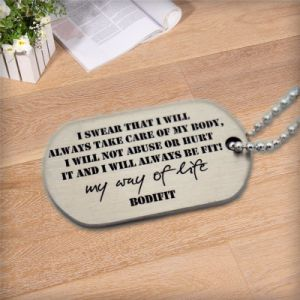 Dog Tag with Metal Material pictures & photos