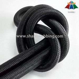 8mm Black Elastic Bungee Shock Cord pictures & photos