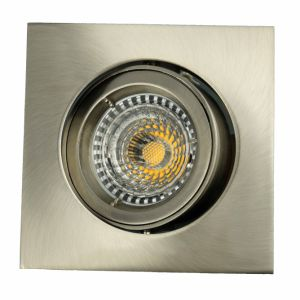 Die Casting Aluminum GU10 MR16 Square Tilt Recessed LED Spotlight (LT1301) pictures & photos
