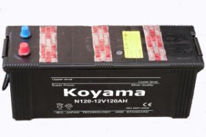 Dry Charged Low Maintenace Free Heavy Duty Truck Battery N120-12V120ah pictures & photos