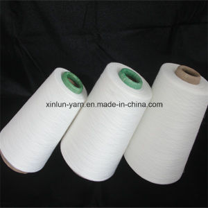 32s Virgin 100% Polyester Spun Knitting Yarn for Fabric pictures & photos