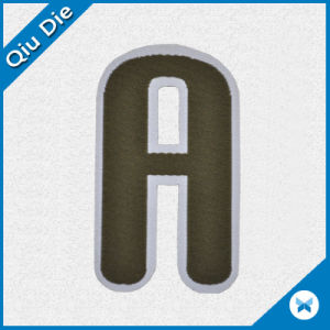 Alphabet Letterlogo Woven Label/Woven Patch for Clothing pictures & photos