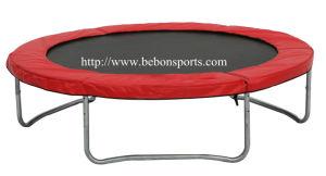 8ft Round Trampoline (red) (083248)