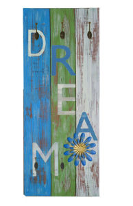 Ocean Colorful Wooden Wall Hook (RM0014-0835)