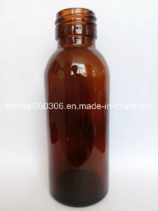 200ml Amber Glass Syrup Bottle, Pharmaceutical Glass Bottle pictures & photos