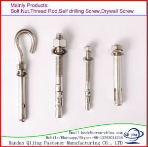 Wholesale Products Yellow Zinc Plated Chemical Expansion Anchor Bolt pictures & photos