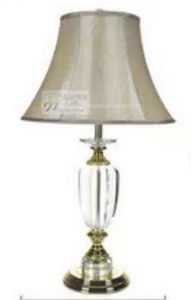 Phine Crystal Desk Lamp / Table Lamp with Fabric Shade for Home Lighting or Hotel Lighting pictures & photos