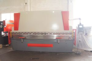 CNC Press Brake Wc67k-100t4000 with Da52 pictures & photos