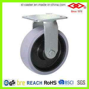 160mm Swivel Locking TPR Caster Wheel (P701-34D200X50S) pictures & photos