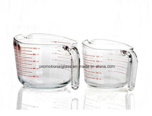 500ml 1000ml Tempered Glass Measuring Cup pictures & photos