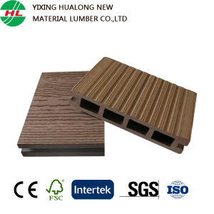 WPC Hollow Outdoor Decking Boards (M126) pictures & photos