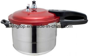 24cm Red Cover Pressure Cooker pictures & photos