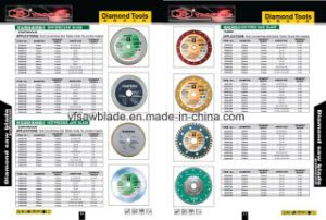 Cold Sintered Diamond Saw Blade for Wet Cutting pictures & photos