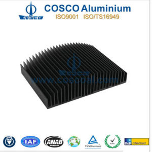 Black Anodizing Aluminum/Aluminium Heat Sink (RoHS Certificated) pictures & photos