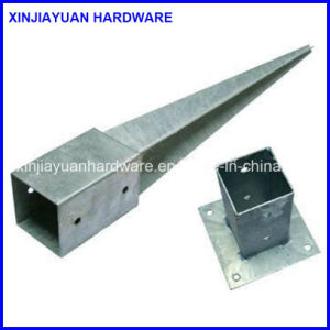 Galvanized Steel Fence Post Anchor, Ground Anchor, Pole Anchor pictures & photos