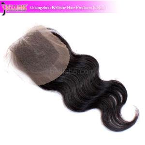 Real Human Hair Top Grade Brazilian Top Lace Closure