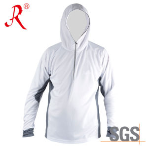 China Bamboo Carbon Fiber Fishing Hoody T-Shirt (QF-962) pictures & photos