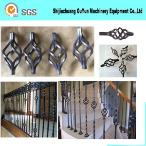 Wrought Iron Bird Cage Cast Iron Parts Flower Basket pictures & photos