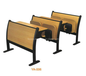 Metal Framed Wood Classroom Furniture (YA-006) pictures & photos