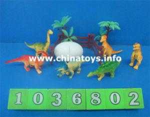 Cheap Good Quality Toys Soft Plastic Dinosaur Set (1036802) pictures & photos