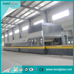 Landglass Flat and Bending Glass Jet Convection Tempering Line pictures & photos