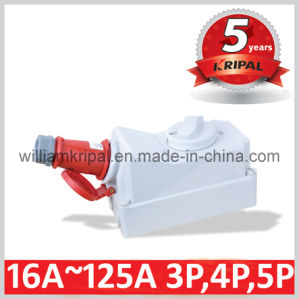 IP44 32A Industrial Plug Socket pictures & photos