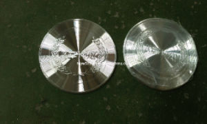 3D Diamond Cut Shinny Aluminum Badge pictures & photos