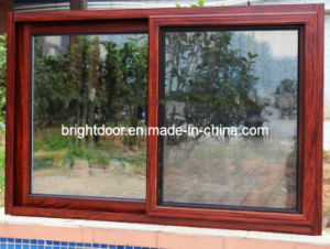 Aluminum Sliding Window with Mosquito Net (CL-W1007) pictures & photos