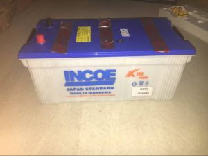 New Design N200 12V200ah Dry Charged Car Battery pictures & photos