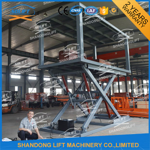Hydraulic Scissor Car Stack Lift Platform for Cars pictures & photos