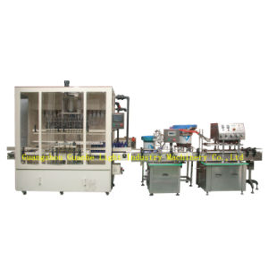 Auto Bleach Liquid Filling Line for Anti-Corrosive Liquids Packaging pictures & photos