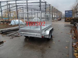 Galvanized Tendem Axle Box Trailer (TR0302) pictures & photos