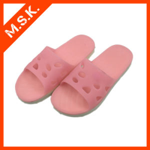 Soft Shoes Sandles Slippers Pinrt with Kat (MSK-SA806)