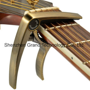 Guitar Capo Made of Zinc Alloy / Musical Instruments Parts pictures & photos