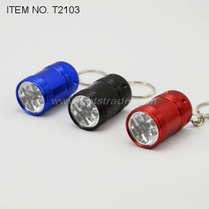 6 LED Keychain Flashlight (T2103) pictures & photos