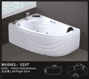 Whirlpool Massage Bathtub for Two Person (5237) pictures & photos