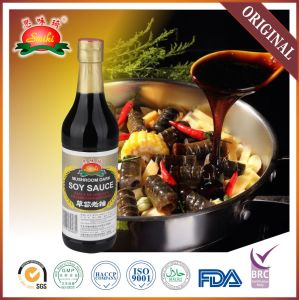 Superior Dark Mushroom Soy Sauce in High Quality Brands Manufacturer Certified with HACCP and ISO