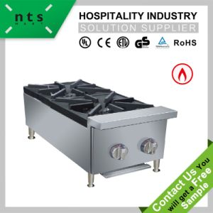 Two Gas Burner for Catering Kitchen Equipment pictures & photos
