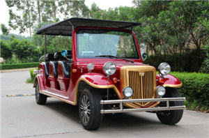 Hot Selling 11 Seats Electric Sightseeing Car pictures & photos