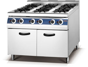 6-Burner Gas Range with Cabinet (HGR-96) pictures & photos